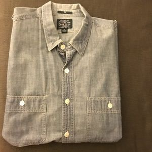 J. Crew Sporting Goods Chambray Button Down